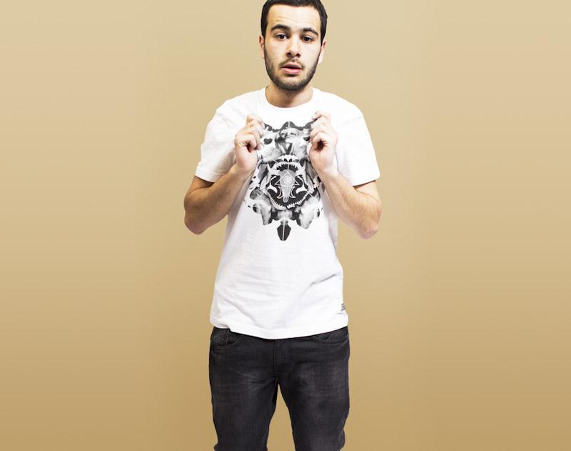 RVLT/Revolution – bílé tričko spotiskem