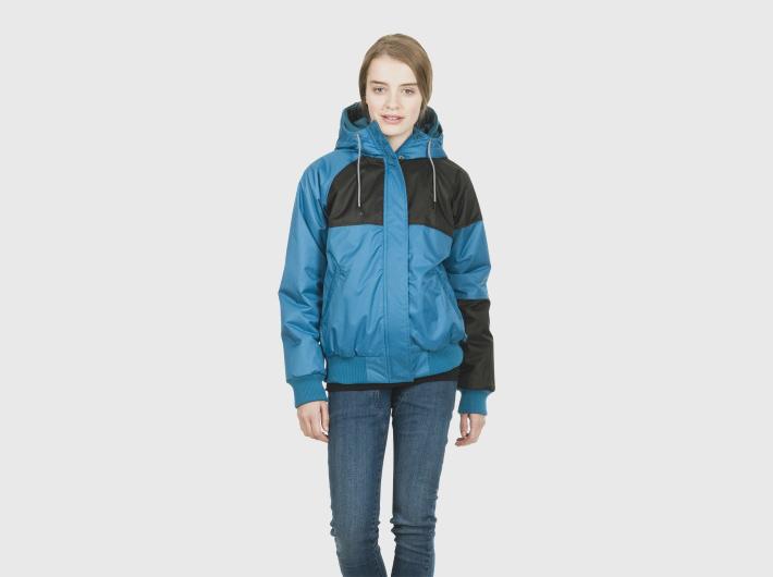 Nikita dámská modro-černá zimní bunda Aparat