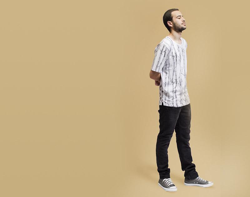 RVLT/Revolution – bílé tričko scelopotiskem