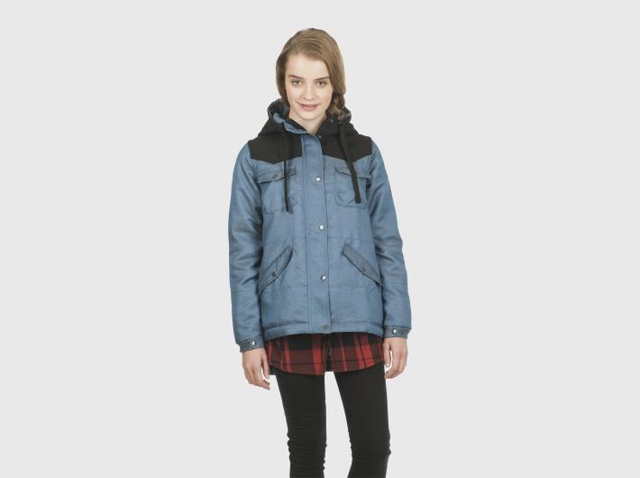 Nikita dámská modrá zimní bunda Explorer