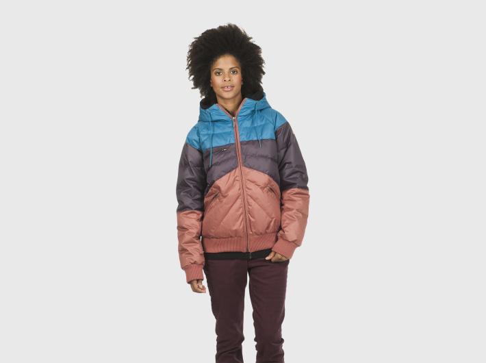 Nikita dámská barevná prošívaná zimní bunda Low