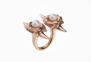 Antipearle – kolekce Jaws – stříbrné šperky