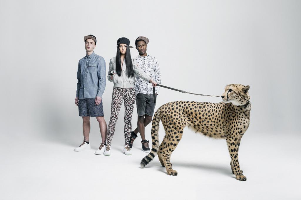 Tubelaces x Sûr snapbacks, kšiltovky srovným kšiltem, gepardí tkaničky