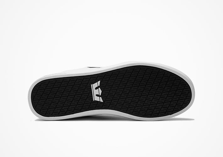Boty Supra Stacks II – černo-bílé tenisky