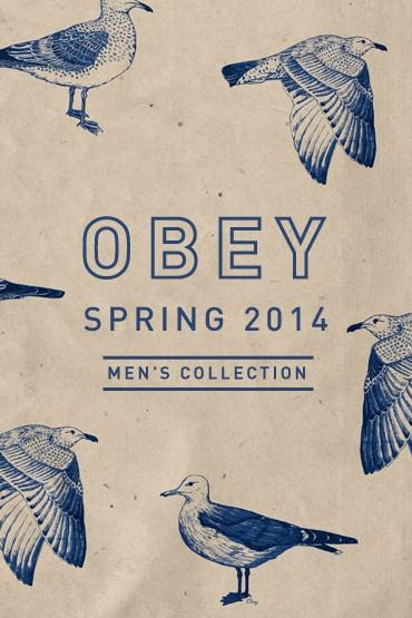 Obey – kolekce jaro 2014