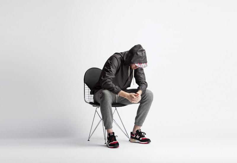 Publish – pánské oblečení – šedá jarní bunda, kalhoty