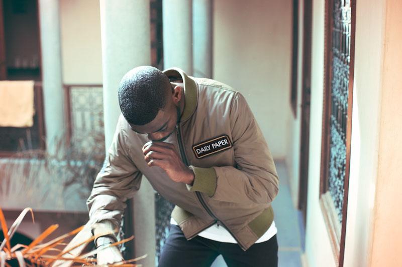Daily Paper – pánské oblečení – khaki bombr
