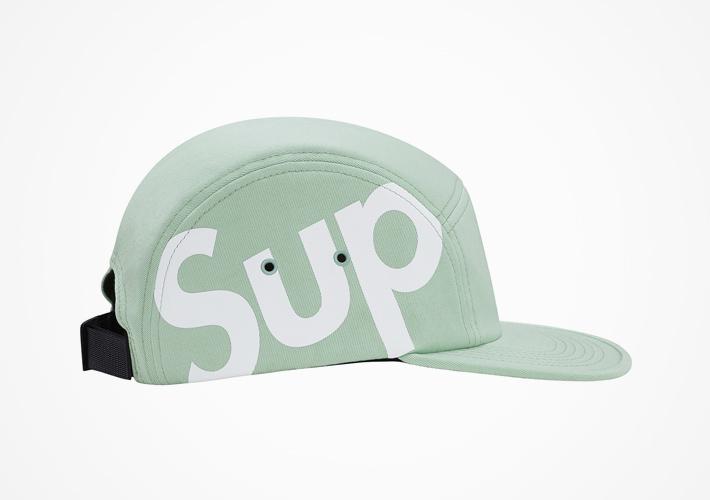 Supreme – snapback kšiltovka světle zelená