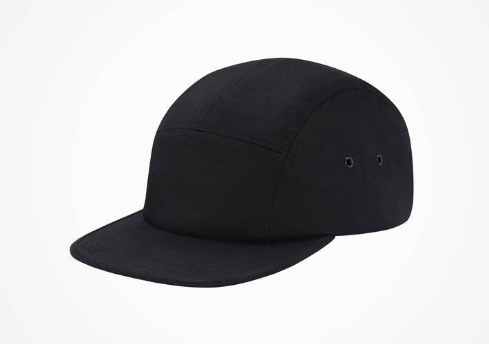 Supreme – snapback kšiltovka černá