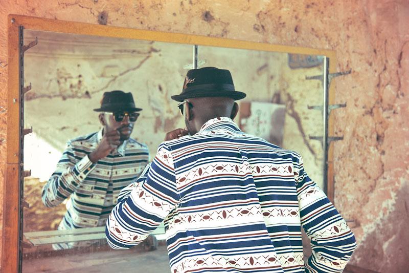 Daily Paper – pánské oblečení – košile safrickým vzorem