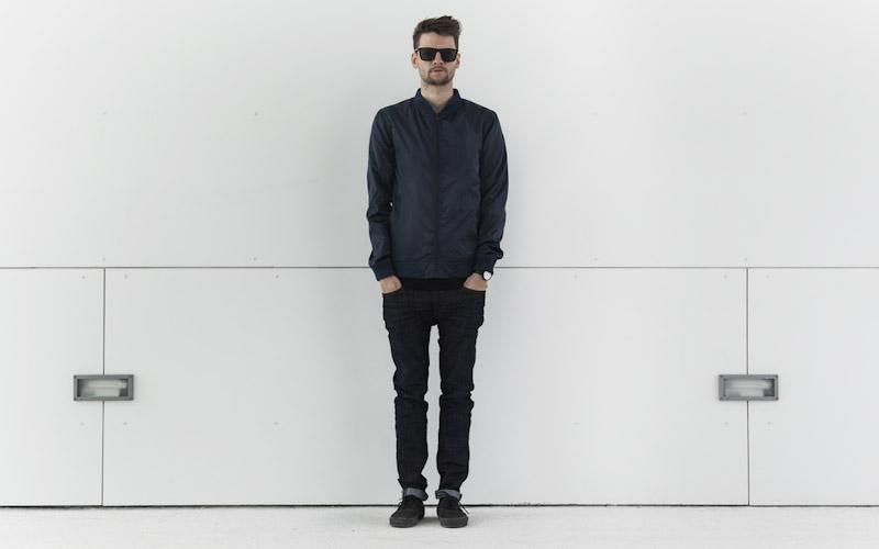 RVLT/Revolution – pánská bunda do pasu, temně modrá, kalhoty