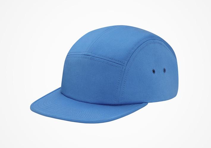 Supreme – snapback kšiltovka světle modrá