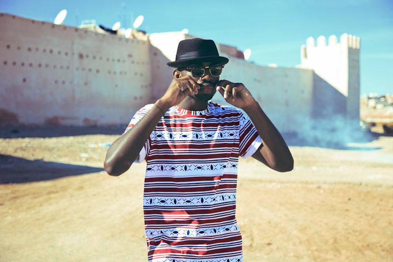 Daily Paper – pánské oblečení – tričko safrickým vzorem