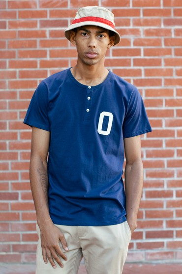 Obey – pánské modré tričko