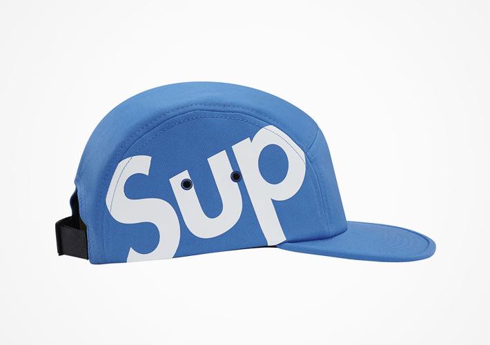 Supreme – snapback kšiltovka modrá