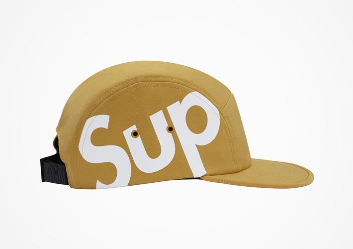 Supreme – snapback kšiltovka světle hnědá