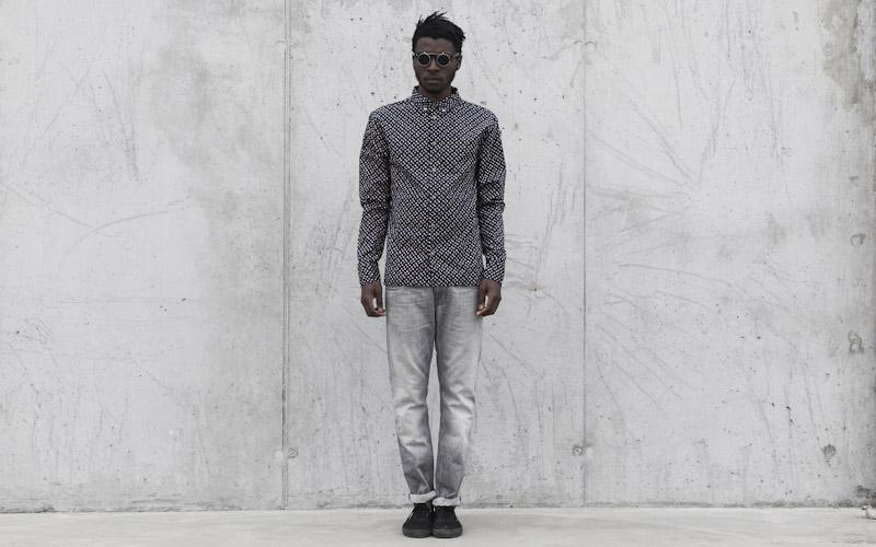 RVLT/Revolution – pánská košile se vzorem, kalhoty