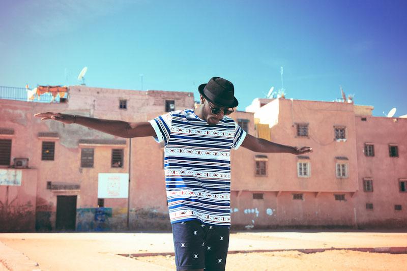 Daily Paper – pánské oblečení – tričko safrickým vrozem