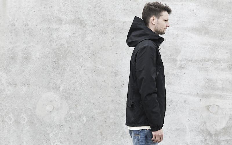 RVLT/Revolution – pánská jarní bunda, tmavě šedá