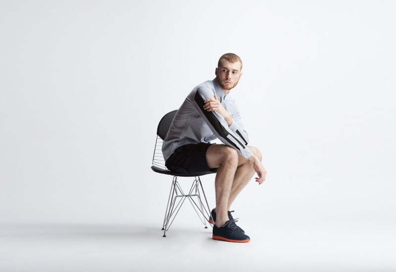 Publish – pánské oblečení – proužkovaná košile, šortky