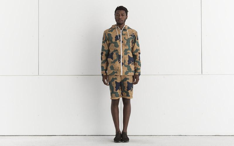 RVLT/Revolution – jarní bunda se vzorem, šortky se vzorem