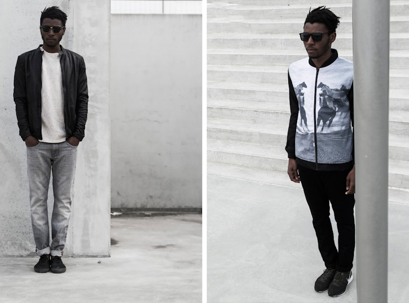 RVLT/Revolution – pánská bunda, kalhoty, bunda spotiskem
