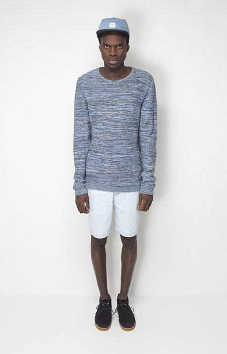 Ucon Acrobatics – pánské oblečení – svetr stexturou, šortky