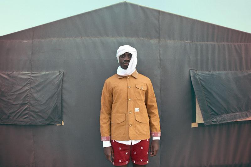 Daily Paper – pánské oblečení – hořčicová jarní bunda