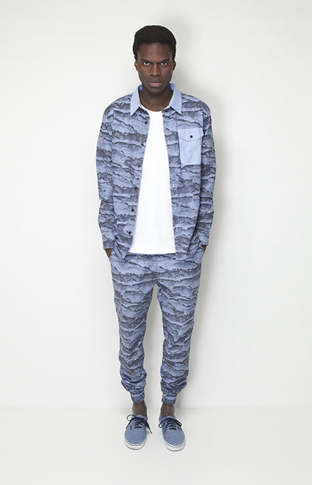Ucon Acrobatics – pánské oblečení – košile se vzorem, kalhoty se vzorem