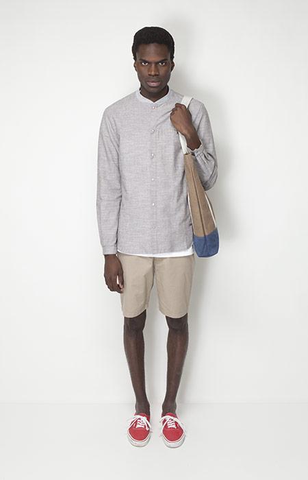 Ucon Acrobatics – pánská móda – košile – dlouhý rukáv, šortky
