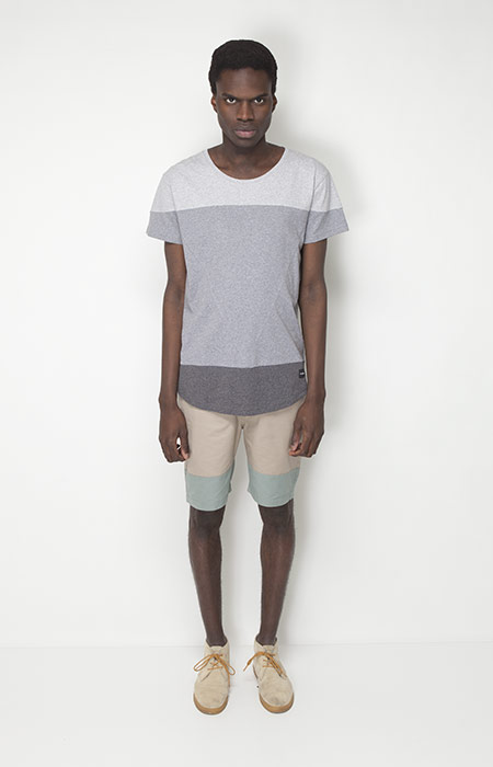 Ucon Acrobatics – pánská móda – šedé tričko, šortky