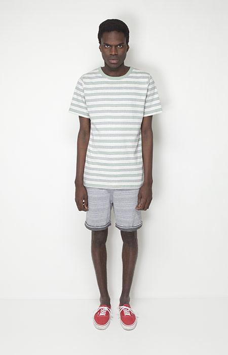 Ucon Acrobatics – pánská móda – pruhované tričko, šortky