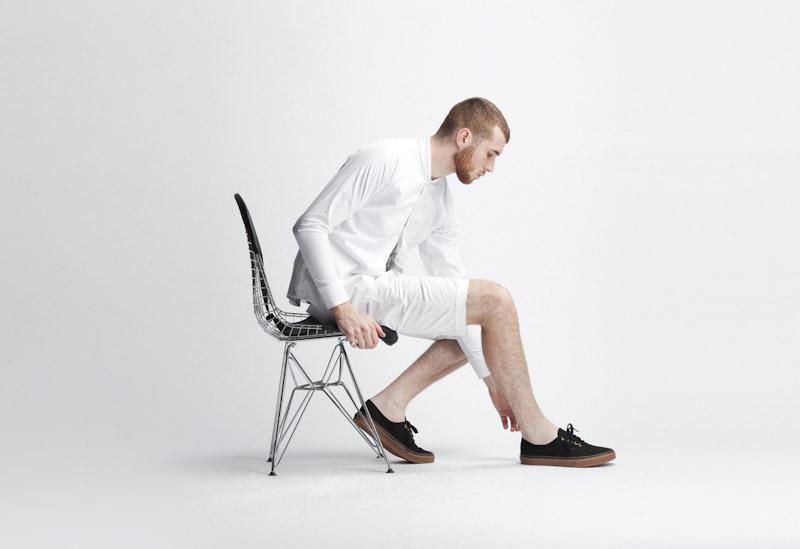 Publish – pánské oblečení – bílá košile, šortky