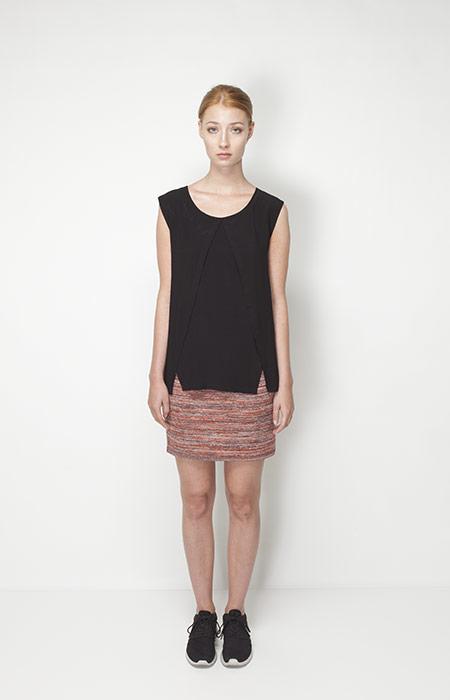 Ucon Acrobatics – dámské oblečení – černé tílko, sukně