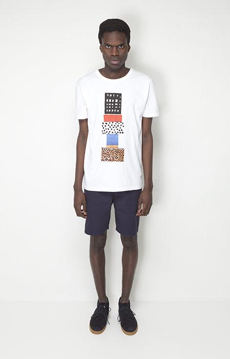 Ucon Acrobatics – pánská móda – bílé tričko spotiskem