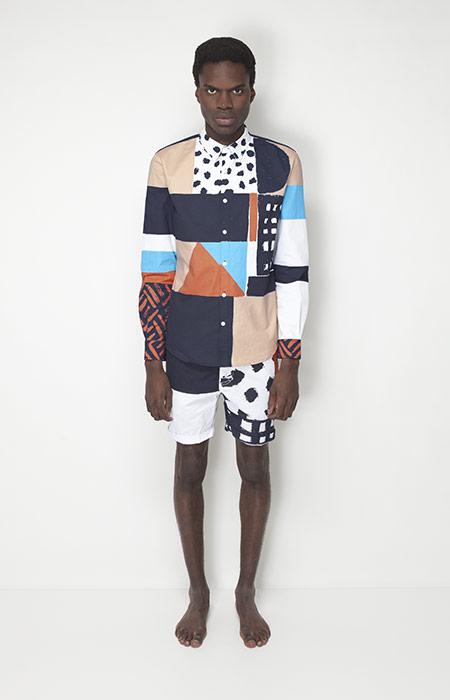 Ucon Acrobatics – pánské oblečení – košile se vzory, šortky