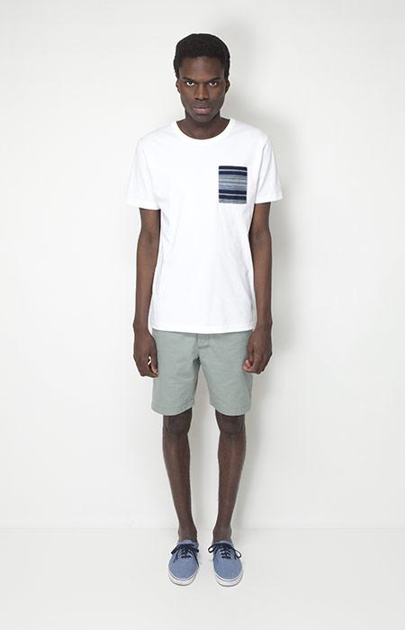 Ucon Acrobatics – pánské oblečení – bílé tričko skapsičkou