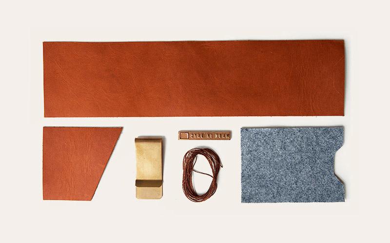Made in Days – kožená peněženka