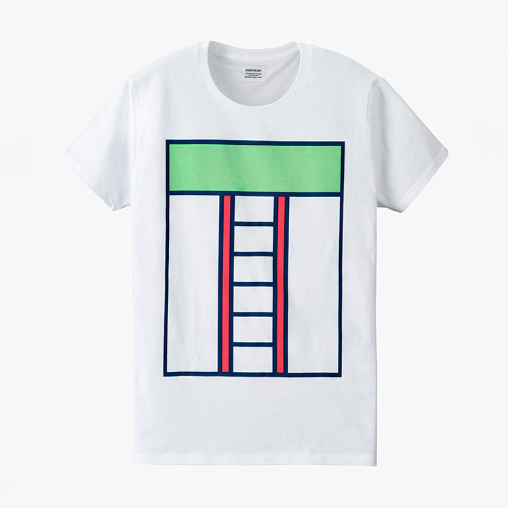 Bílé tričko spotiskem – Ross Gunter