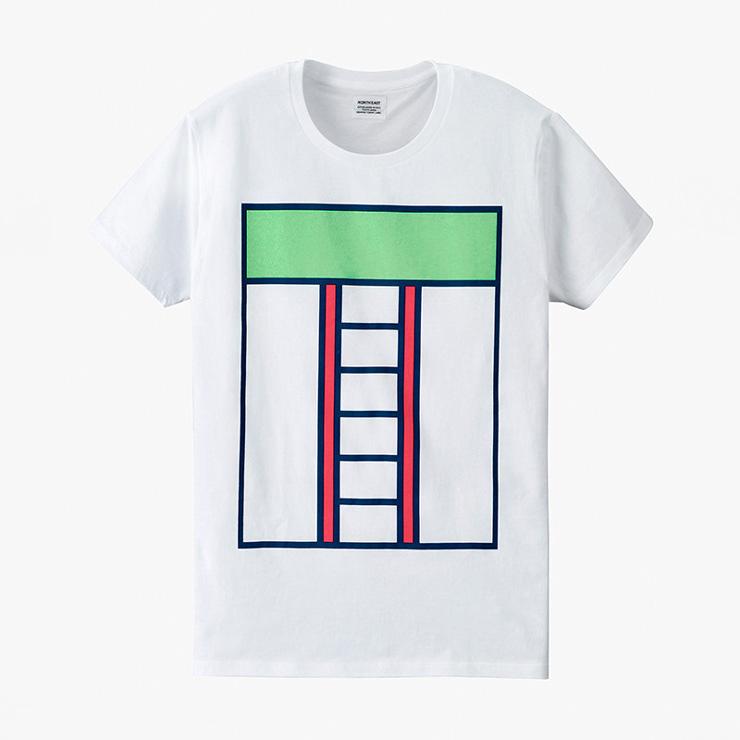 Minimalistická trička s potiskem, autorem je Ross Gunter
