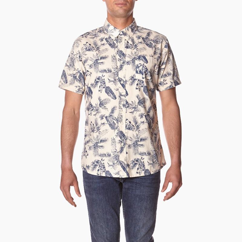 Element – Tropical Thunder – pánská košile se vzorem květin