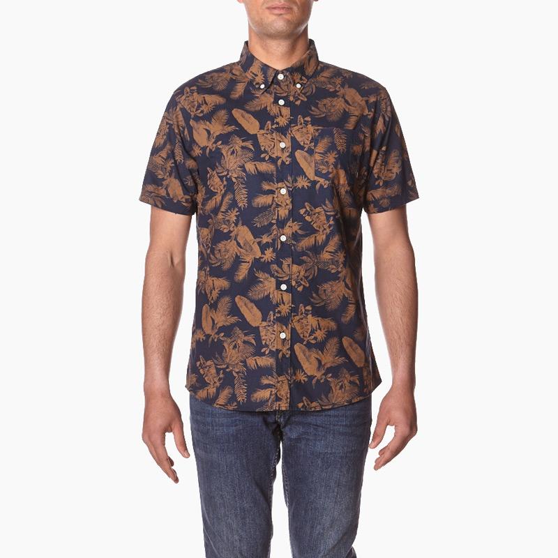 Element – Tropical Thunder – pánská košile se květinovým vzorem