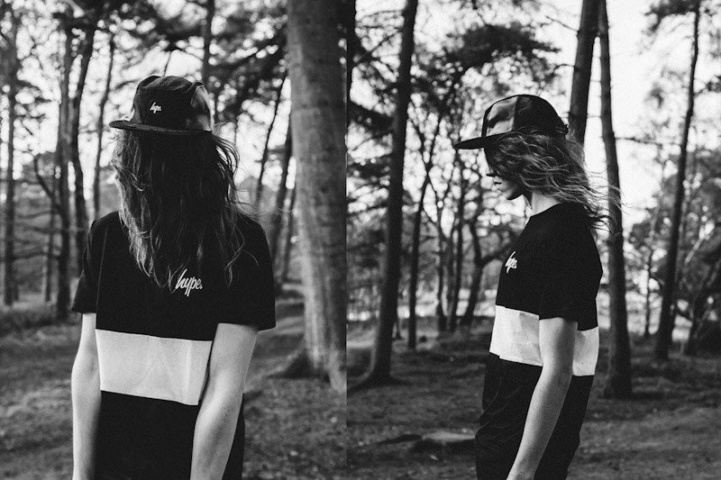 Just Hype – Monotone Collection – černé tričko, kšiltovka