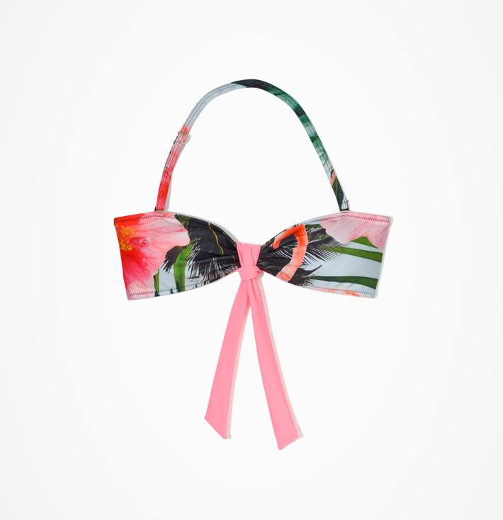 Femi Pleasure – dámské bikiny, květinový letní vzor