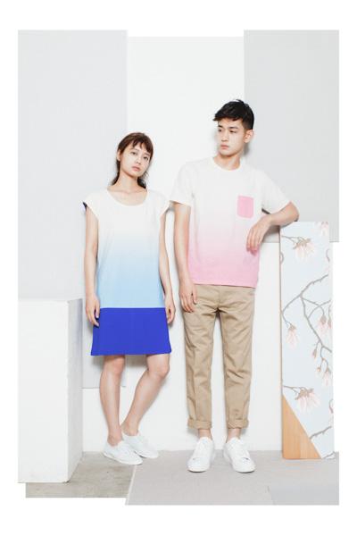 Aloye – dámské šaty, pánské tričko, kalhoty