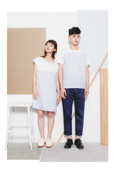 Aloye – dámské letní šaty, pánské tričko, kalhoty