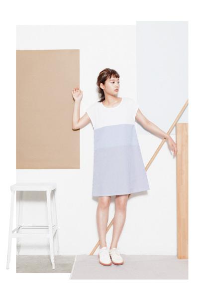 Aloye – dámské minimalistické letní šaty