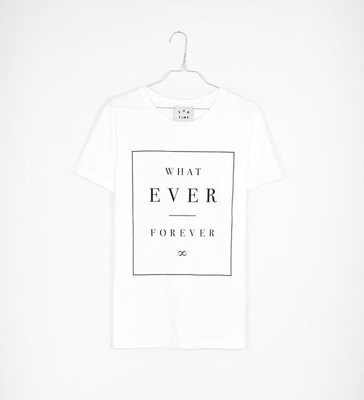 Fun Time – oblečení – bílé tričko spotiskem