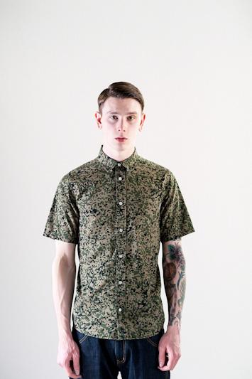 Carhartt WIP – pánská vzorovaná košile, krátký rukáv