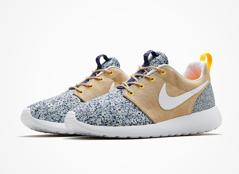 Nike x Liberty London – Roshe Run – boty, floral print